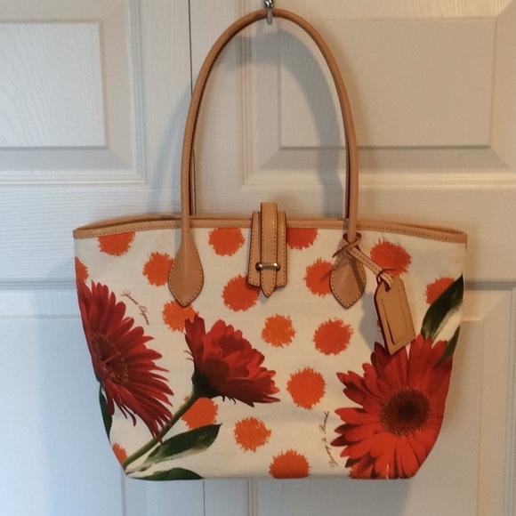 6a88729fd Dooney & Bourke Handbags - Dooney & Bourke Cindy Tote Bag Zinnia Elegans